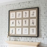 Tiny Dancers Print 110cm Room Shot | Annie Mo's