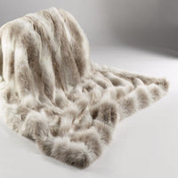 Animal Faux Fur Throw - Reindeer | Annie Mo's