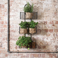 Hanging Iron Baskets 79cm | Annie Mo's