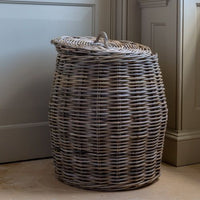 Lidded Laundry Basket Large 66cm | Annie Mo's