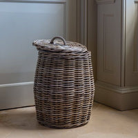 Lidded Laundry Basket Small 47cm