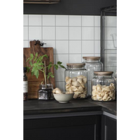 Glass Jars with Wooden Lids | Annie Mo's