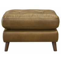 Saddler Footstool | Leather | Annie Mo's