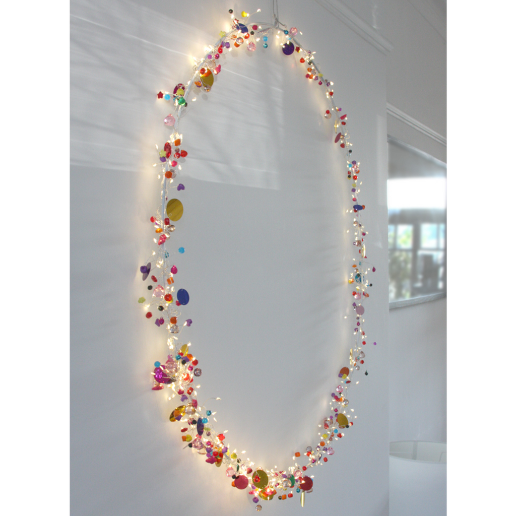 Folklore Circle LED Ornament 4cm