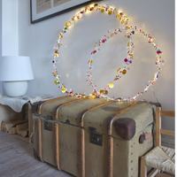 Main Operated Folklore Circle LED Ornament 90cm | Annie Mo's