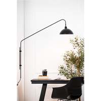 Matted Black Wall Mountable Light 127cm | Annie Mo's