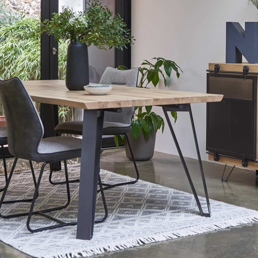Elements Dining Tables with Four Pin Legs 110cm Wide
