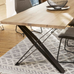 Elements Dining Tables with Cross Legs 90cm Wide | Annie Mo's