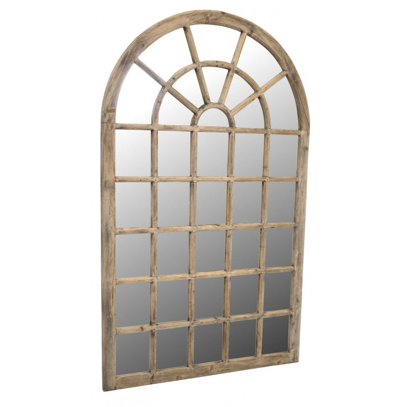 Vintage Tall Windowpane Mirror 200cm | Annie Mo's