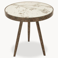 Tray Table with Mirrored Cow Parsley Pattern | Annie Mo's