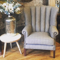 Wing Fluted Armchair