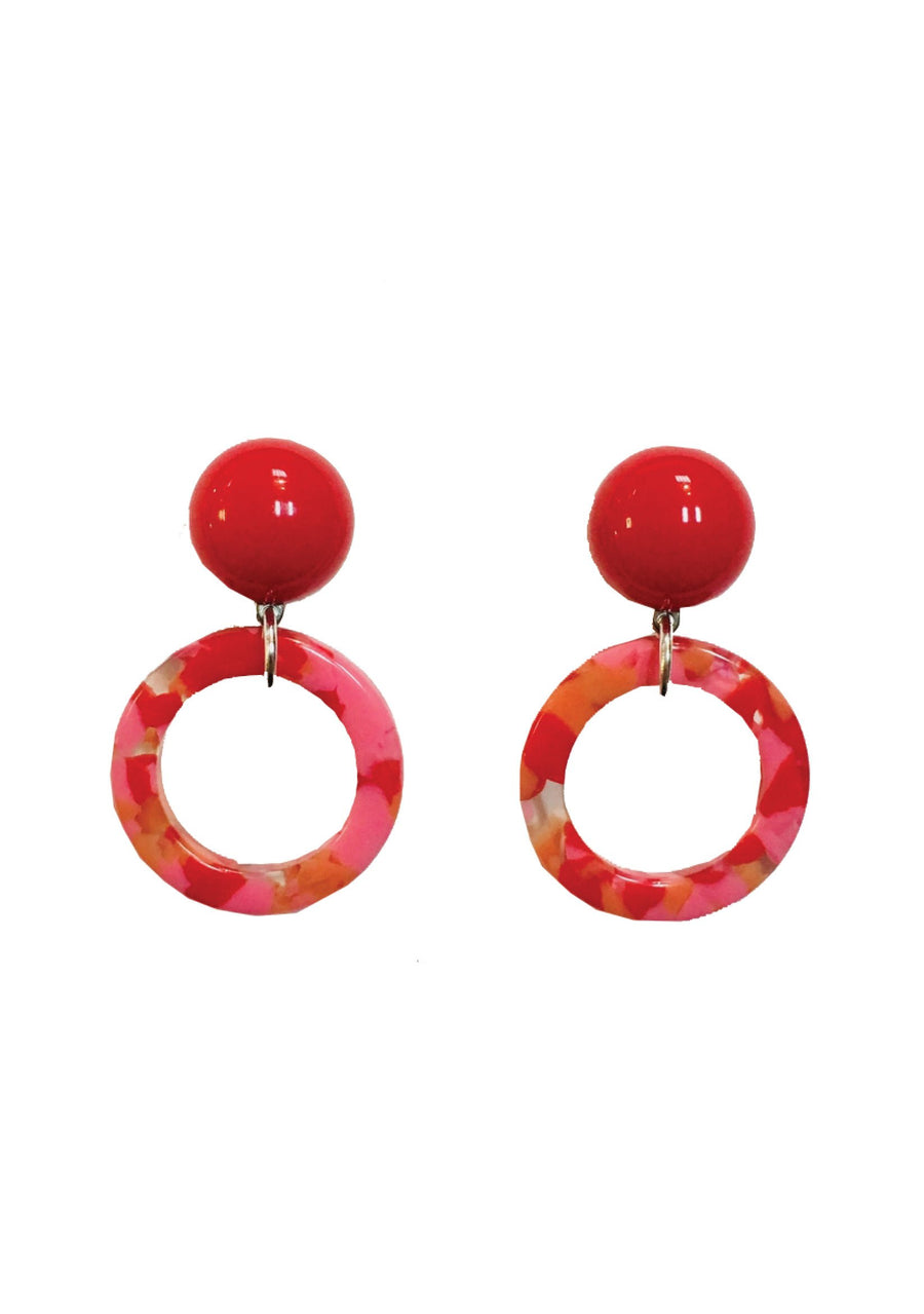 Carline Rose Earrings
