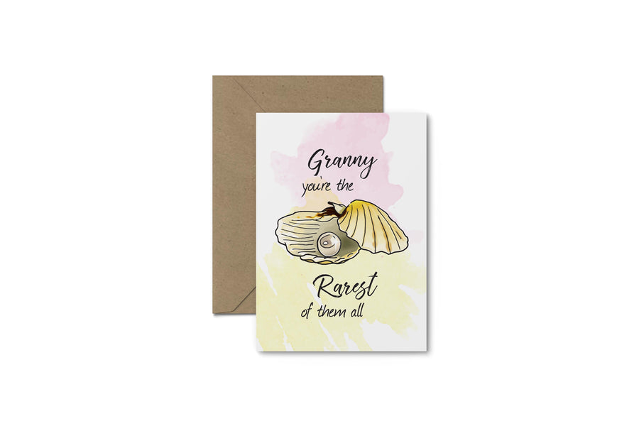 Granny You're The Rarest! Mother's Day Card