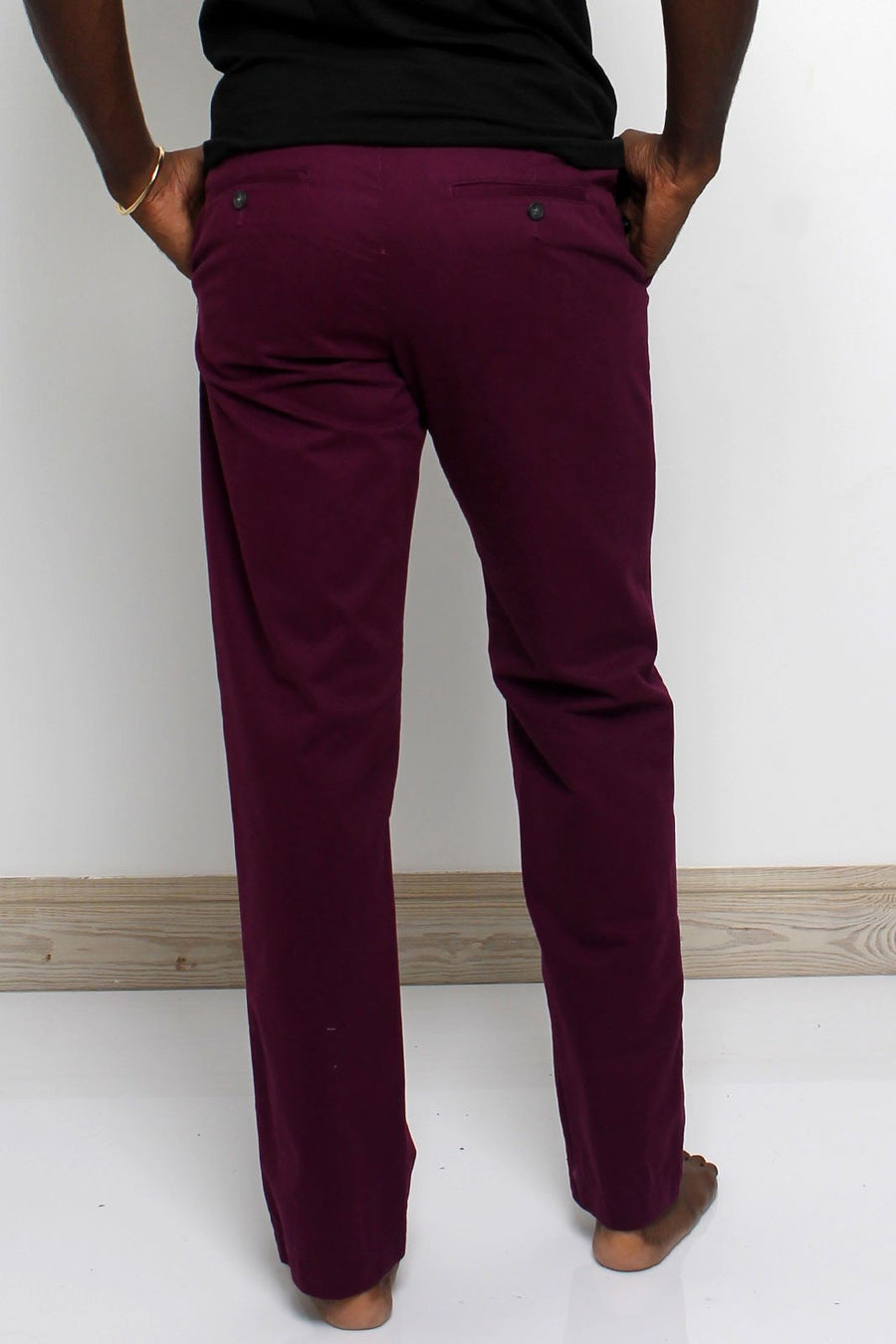 Summer Plum Chinos