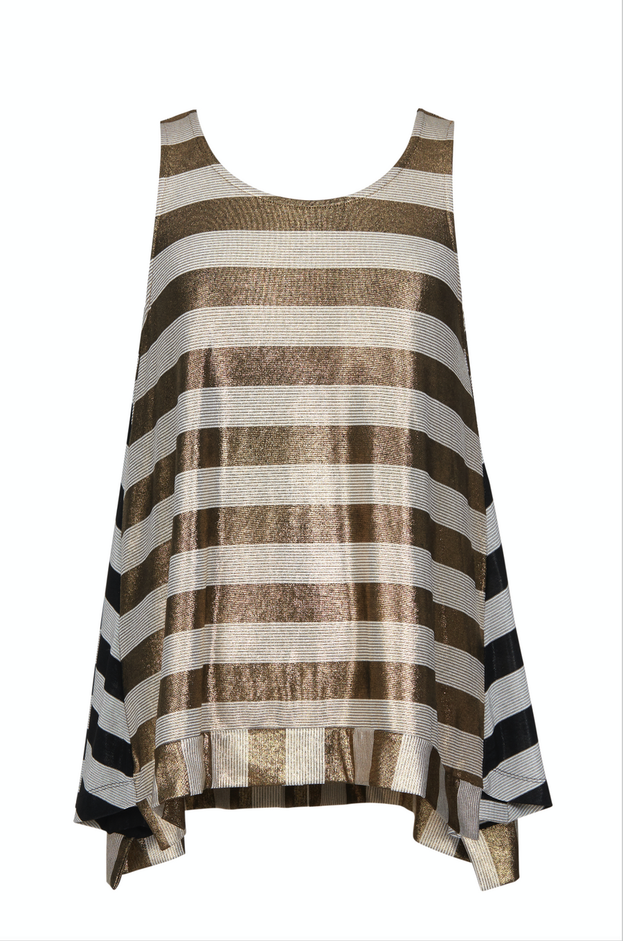 Metal & Stripes Top