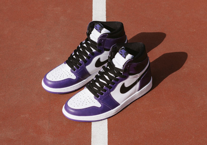 "Air Jordan 1 Retro High OG ""Court Purple"" is now available"