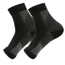 Load image into Gallery viewer, 1 Pair Foot angel  anti fatigue outerdoor men socks compression Breatheable foot sleeve Support Socks Men Brace Sock