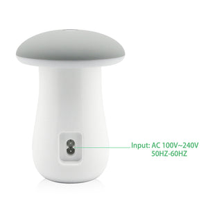 Leebote Multiple USB Phone Charger Mushroom Night Lamp Charging Station Dock QC 3.0 Quick Charger for Mobile Phone and Tablet