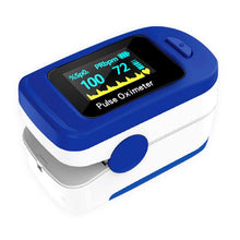 Load image into Gallery viewer, Household Health Monitors OLED Oximeter Medical equipment Heart Rate Monitor Fingertip Pulse Oximeter Finger Blood Oxygen