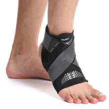 Load image into Gallery viewer, 1pc Sport Ankle Brace Protector Adjustable Anti-sprain Compression Feet Support Wrap Bandage Protection With Strap