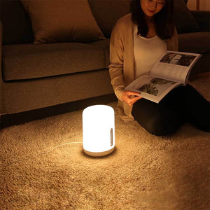 Arrival Original Xiaomi Mijia Bedside Lamp 2 Bluetooth WiFi Connection Touch Panel APP Control Works with Apple HomeKit Siri