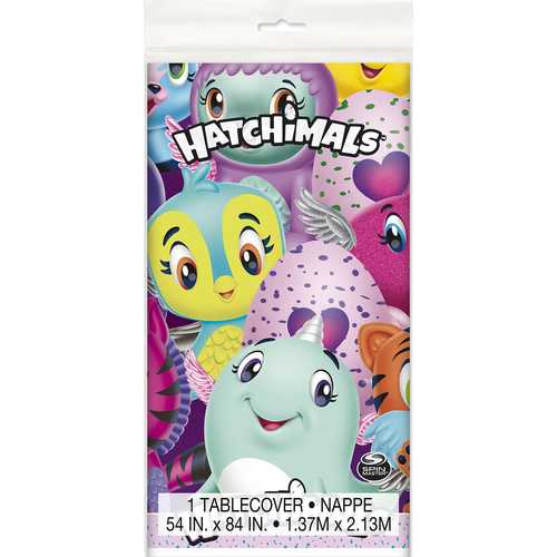 Hatchimals Plastic Table Cover