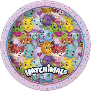 Hatchimals 9 Inch Luncheon Plates [8 per Pack]