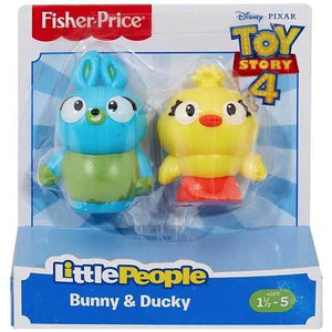 Fisher Price Toy Story 4 Little People Bunny & Ducky Figure 2-Pack