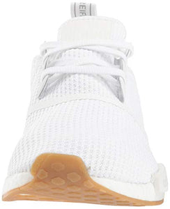 adidas Originals Men's NMD_r1 Shoe, White/Gum, 9.5 M US