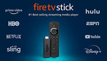 Load image into Gallery viewer, Fire TV Stick streaming media player with Alexa built in, includes Alexa Voice Remote,