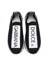 Load image into Gallery viewer, Dolce e Gabbana Luxury Fashion Boys Sneakers Winter White