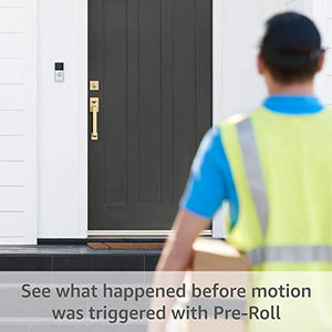 All-new Ring Video Doorbell 3 Plus – 1080p HD video, improved motion detection, 4-second previews, easy installation