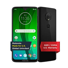 Load image into Gallery viewer, Moto G7 with Alexa Hands-Free – Unlocked – 64 GB – Ceramic Black (US Warranty) – Verizon, AT&T, T–Mobile, Sprint, Boost, Cricket, & Metro