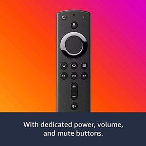 Fire TV Stick streaming media player with Alexa built in, includes Alexa Voice Remote,