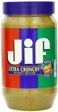 Load image into Gallery viewer, Jif Extra Crunchy Peanut Butter, 96 Ounce