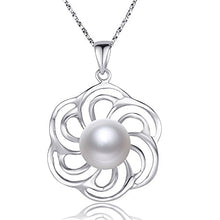 Load image into Gallery viewer, Nonnyl Pearl Necklace for Women Pearl Pendant Jewelry