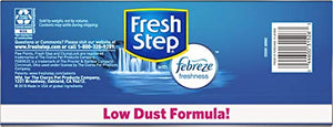 Fresh Step Extreme Scented Litter with The Power of Febreze, Clumping Cat Litter