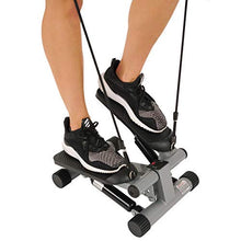 Load image into Gallery viewer, Sunny Health & Fitness Mini Stepper with Resistance Bands