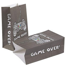 Load image into Gallery viewer, Blue Panda 36-Pack Gamer Party Goody Bags for Favors, Treats and Goodies