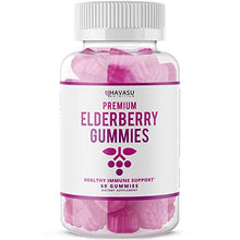 Load image into Gallery viewer, Havasu Nutrition Elderberry Gummies 100mg - Supports Immune System Health Natural Ingredients, 60 Gummies