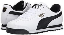Load image into Gallery viewer, PUMA Men's Roma Basic Fashion Sneaker, White/Black Leather - 13 D(M) US