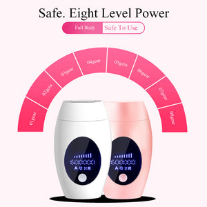 600000 Flashes IPL Laser Epilator  Permanent Hair Removal Device LED Whole Body Laser Hair Remover Machine
