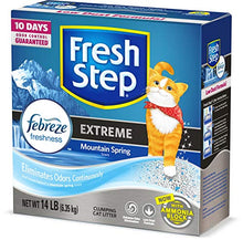 Load image into Gallery viewer, Fresh Step Extreme Scented Litter with The Power of Febreze, Clumping Cat Litter