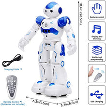 Load image into Gallery viewer, KINGSDRAGON Robot Toys RC Robot for Kids Rechargeable