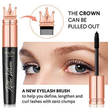 Load image into Gallery viewer, Glossiva 4D Silk Fiber Lash Mascara with Brush- Waterproof,