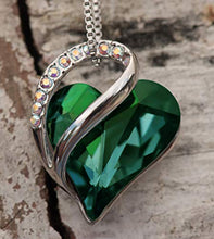"Load image into Gallery viewer, Leafael""Infinity Love"" Heart Pendant Necklace"