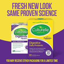 Load image into Gallery viewer, Culturelle Daily Probiotic, Digestive Health Capsules,  proven Effective Probiotic, 60 Count