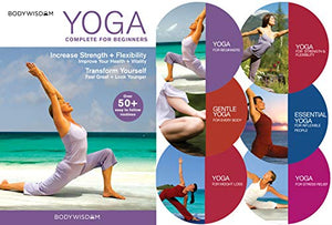 Yoga for Beginners Deluxe 6 DVD Set: