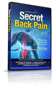 24Seven Wellness & Living Back Pain Relief DVD, Natural Prevention of Lower, Upper, Neck and Sciatic Pain.