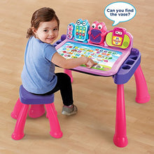 Load image into Gallery viewer, VTech Touch and Learn Activity Desk Deluxe, Pink